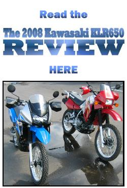 The 2008 Kawasaki KLR650 Review