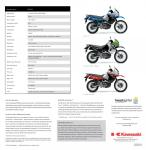 The 2008 Kawasaki KLR650 Brochure